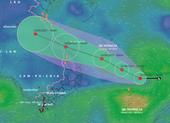 Áp thấp đang mạnh lên thành áp thấp nhiệt đới, nhiều tỉnh miền Trung mưa to