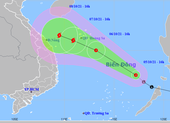 Áp thấp mạnh lên thành áp thấp nhiệt đới, cảnh báo triều cường ở Nam bộ