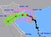 Tâm bão số 7 giật cấp 10 đang cách Hải Phòng 130 km
