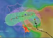 Bão số 7 liên tục đổi hướng, gây mưa to ở Bắc Trung bộ