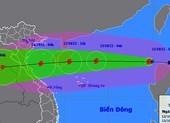 Bão số 8 cường độ mạnh, đang di chuyển rất nhanh hướng vào Bắc Trung bộ