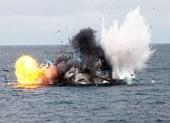 Tàu cá tại Lý Sơn phát nổ, 14 người thương vong