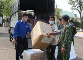 Thành đoàn Đà Nẵng trao quà hỗ trợ các khu cách ly tập trung