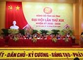 Khai mạc trọng thể Đại hội Đảng bộ tỉnh Hà Tĩnh lần thứ XIX