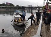 Tìm được thi thể người nhảy cầu Nguyễn Văn Cừ