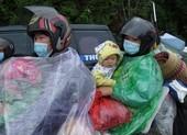 Nghệ An hỗ trợ khẩn cấp cho người dân về từ các tỉnh phía Nam