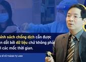 TS Vũ Thành Tự Anh góp ý mô hình và lộ trình mở cửa trở lại ở TP.HCM