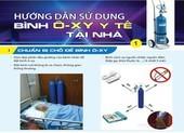 Hướng dẫn sử dụng bình ôxy y tế tại nhà
