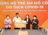 SHB ủng hộ 1.600 trẻ em mồ côi do đại dịch COVID-19