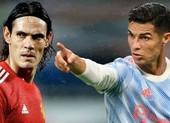 Cavani lên tiếng về việc bị Ronaldo chiếm vị trí ở MU