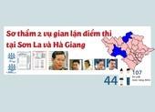 Điểm nổi bật trong 2 vụ gian lận điểm thi tại Hà Giang, Sơn La