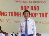 Tổng thư ký QH nêu lý do miễn nhiệm bà Nguyễn Thanh Hải