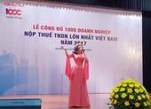 Nộp thuế lớn nhất Việt Nam: Lại gọi tên Viettel!