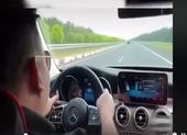 Người đàn ông chạy 234 km/giờ trên cao tốc Long Thành-Dầu Giây