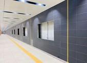 Metro 1: Tầng B1 ga Nhà hát TP đã hoàn thiện cơ bản