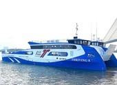 Cuối tháng 4-2020, phà biển Cần Giờ - Vũng Tàu bắt đầu chạy