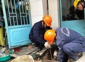Cúp nước hai phường ở quận Bình Thạnh