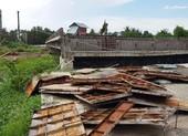 Những hình ảnh hoang tàn của công trường dự án vành đai 2