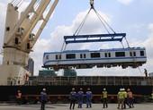 Hôm nay, di chuyển 2 đoàn tàu metro 1 về depot Long Bình
