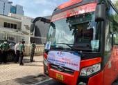 500 sinh viên Khánh Hòa về quê trên những chuyến xe màu cam