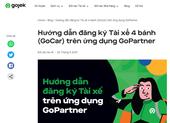 Giãn cách không cản trở Gojek hỗ trợ tài xế trở thành đối tác GoCar