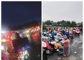 Hàng trăm người mắc kẹt tại chốt kiểm soát dịch ở Long An