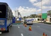 Dự án nâng cấp đường Nguyễn Hữu Cảnh đang triển khai rất chậm