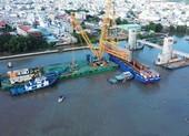Dự án ngăn triều lớn nhất Việt Nam nhìn từ trên cao