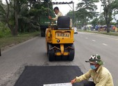 Tăng cường kiểm tra mặt đường đại lộ Nguyễn Văn Linh