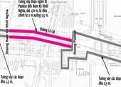 Khẩn trương thẩm định bề dày tường vây metro 1