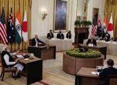 'Bộ tứ kim cương' chính thức nhóm họp tại Nhà Trắng