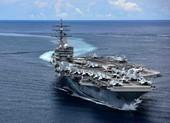 Nhóm tàu sân bay Mỹ Ronald Reagan trở lại Biển Đông sau gần 3 tháng ở Trung Đông