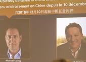 Trung Quốc thả hai công dân Canada sau khi bà Mạnh Vãn Châu được trả tự do