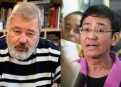 Chân dung ấn tượng hai nhà báo điều tra đoạt giải Nobel Hòa bình