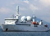 Tàu trinh sát tình báo Pháp quá cảnh eo biển Đài Loan