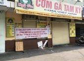 Hàng loạt quán ăn, salon tóc... đóng cửa chống dịch COVID-19