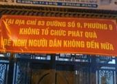 TP.HCM: Điểm phát quà từ thiện ở quận Gò Vấp đã ngưng
