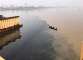 Đà Nẵng: Truy tìm thủ phạm xả thải đen ngòm ra sông Hàn