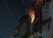 Cháy nhà đường Nhật Tảo, cả khu vực náo loạn
