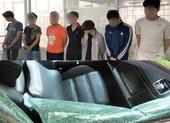 Đà Nẵng: Bắt nhóm thanh thiếu niên đập kính hàng chục ô tô