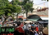 Cháy nhà gần chợ ở Tân Phú, nhiều người náo loạn