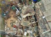 Lý Sơn: Gió giật cấp 13, dân phải xuống hầm tránh bão