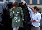 Dân mạng dậy sóng với thông điệp trên áo Đệ nhất phu nhân Mỹ