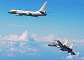 Oanh tạc cơ Trung Quốc luyện tác chiến gần Guam