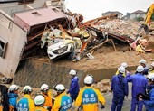 Lũ lụt lịch sử ở Nhật Bản: ít nhất 157 người thiệt mạng