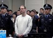 Công dân Canada Robert Lloyd Schellenberg (áo trắng) tại phiên phúc thẩm ở tòa thượng thẩm nhân dân Đại Liên, tỉnh Liêu Ninh (Trung Quốc) ngày 14-1. Ảnh: AP