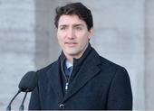 Thủ tướng Canada Justin Trudeau phát biểu trước truyền thông tại Ottawa (Canada) ngày 14-1. Ảnh: THE CANADIAN PRESS