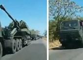 Venezuela đưa xe tăng, pháo hạng nặng tới biên giới Colombia