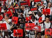 1 triệu dân Hong Kong chống dự luật dẫn độ sang Trung Quốc