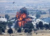 Hình ảnh Mỹ ném bom phá hủy căn cứ ở Syria trước khi rời đi